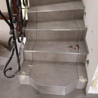 escalier-maçonnerie-carrelage