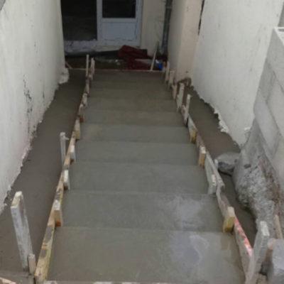 escalier-béton-maçonnerie