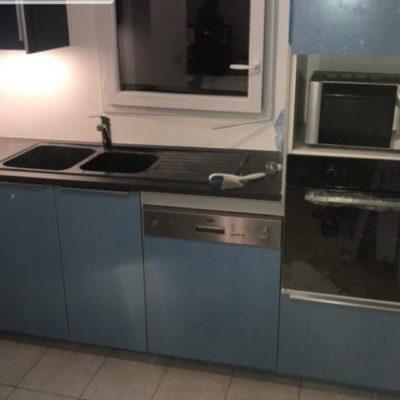Réfection cuisine plan conception meuble caisson